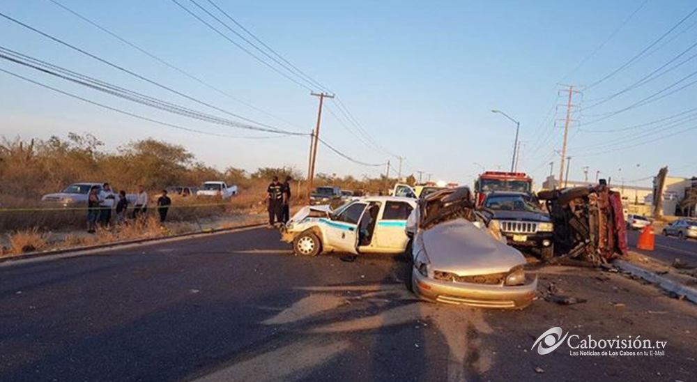 accidente los cabos